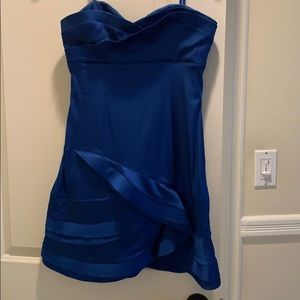 BCBGMaxAzria Dresses - BCBG Electric Blue Dress